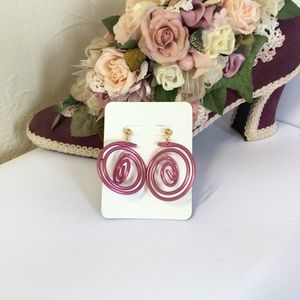 Cool Vintage Wire Wrap Earrings